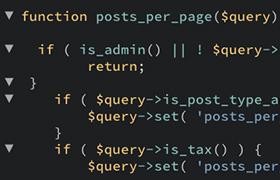 カスタム投稿タイプとカスタムタクソノミーの一覧ページの表示件数を指定する方法